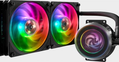 Cooler Master New CPU Liquid Cooler RGB