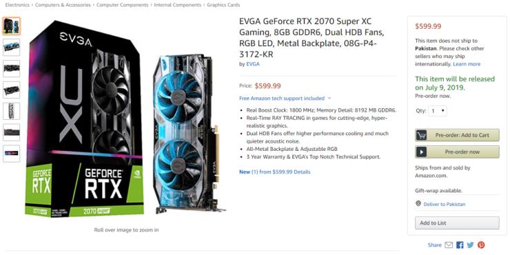 Nvidia Super RTX