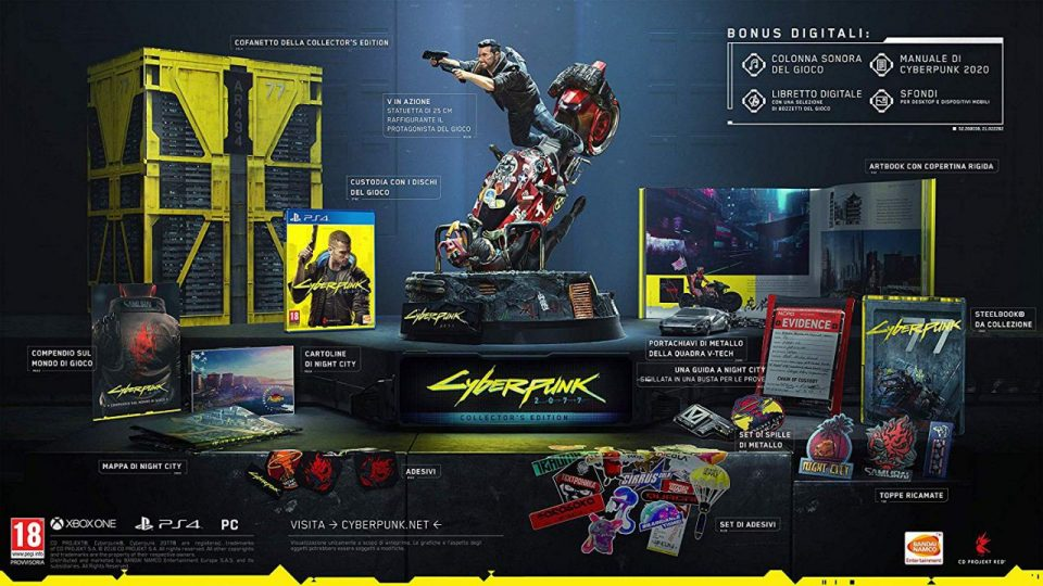 Collector's Edition Cyberpunk 2077