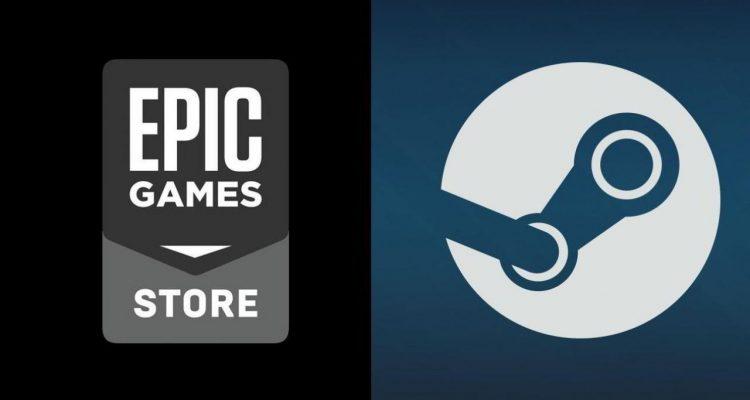 Logo Epic Games e Steam