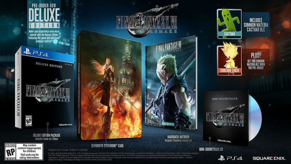 Final Fantasy 7 Remake Deluxe Edition 1