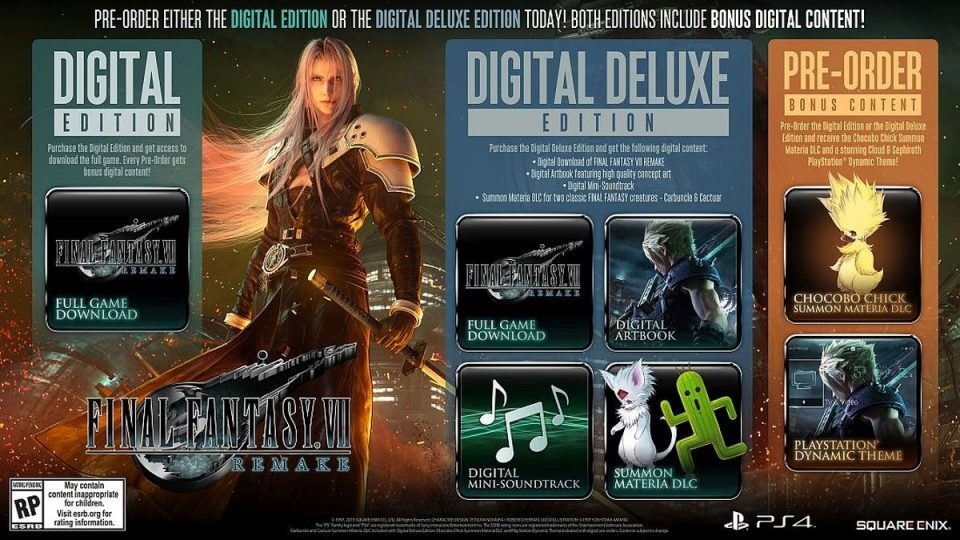 Final Fantasy 7 Remake Deluxe Edition 2