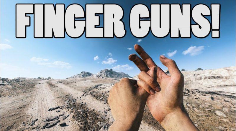 Battlefield 5 Finger Gun