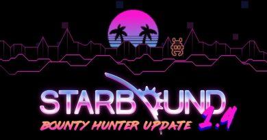 Starbound Bounty Hunter Update 1.4