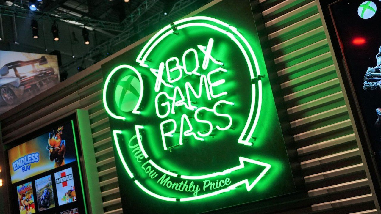 Xbox Game Pass Logo Neon