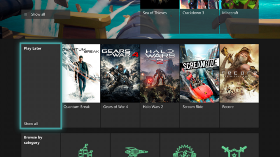 Play Later Xbox Game Pass