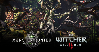 Crossover tra Monster Hunter World e The Witcher 3 Wild Hunt