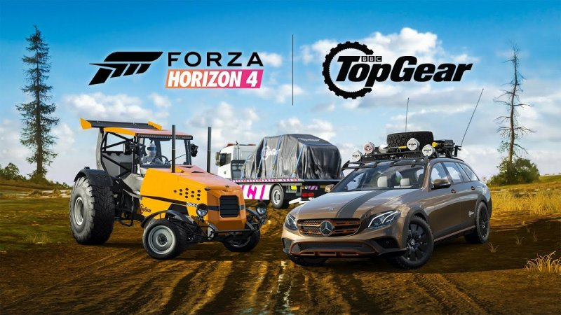 Forza Horizon 4 Top Gear DLC
