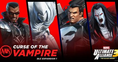 Marvel Ultimate Alliance 3: The Black Order Curse of the Vampire