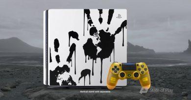 Playstation 4 PRO tema Death Stranding