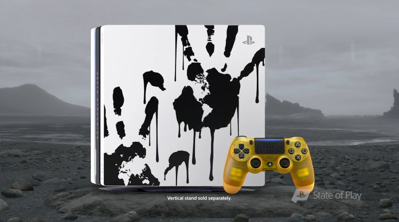 Playstation 4 PRO tema Death Stranding
