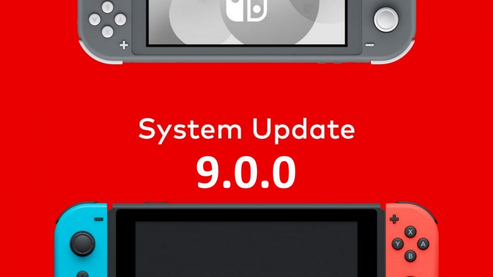 Nintendo Switch Update 9.0.0