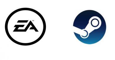 EA Logo e Steam Logo