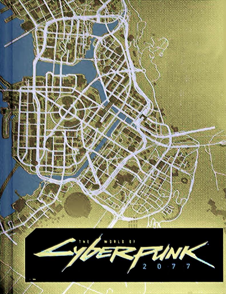 Pezzo della mappa di Cyberpunk 2077