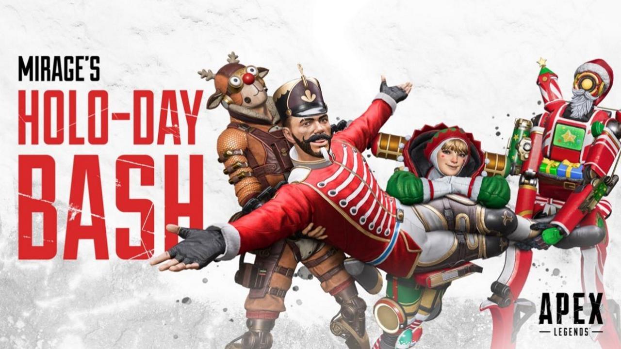 L'evento Holo-Day Bash per Apex Legends è in arrivo