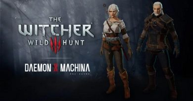 Daemon x Machina DLC The Witcher 3