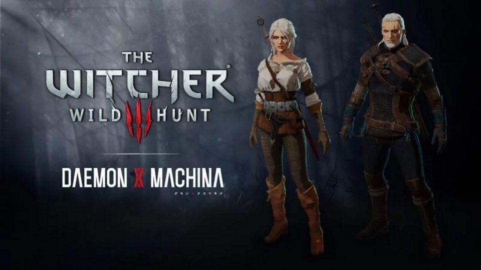 Daemon x Machina DLC The Witcher 3
