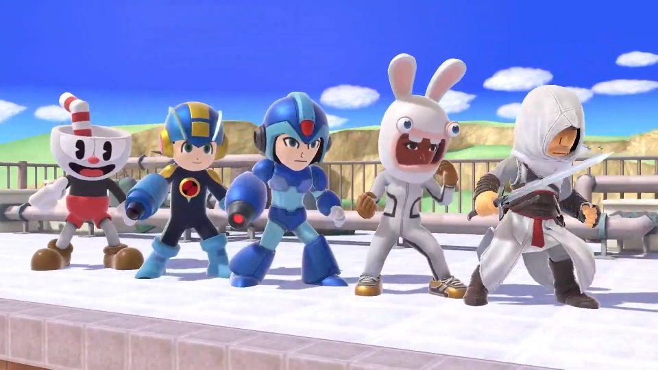 Super Smash Bros. Ultimate Guerrieri Mii