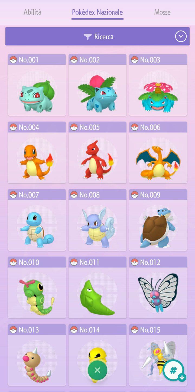 Pokémon HOME - Pokédex Nazionale Smartphone