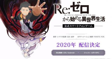 Re: Zero Starting Life in Another World