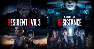 Resident Evil 3 remake e Resident Evil Resistance