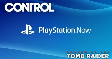 PlayStation Now: Control e Shadow of the Tomb Raider