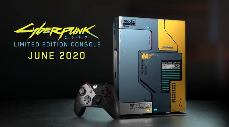 Bundle Xbox One X Cyberpunk 2077 Limited Edition