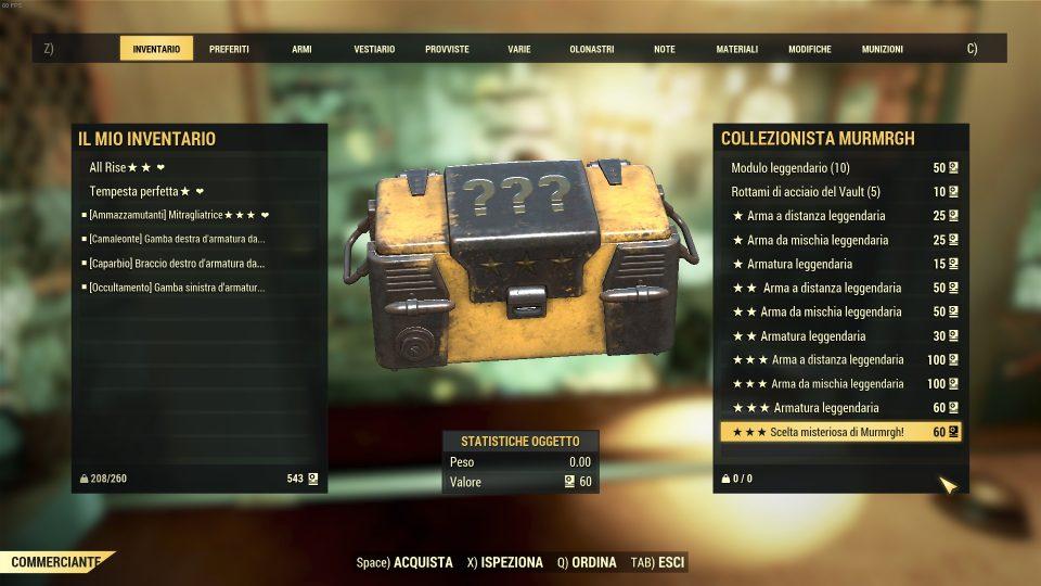 Fallout 76 venditore scrip