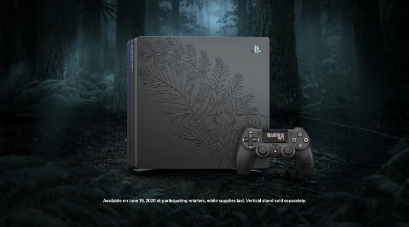 PlayStation 4 Pro a tema The Last of Us Parte 2 Limited Edition