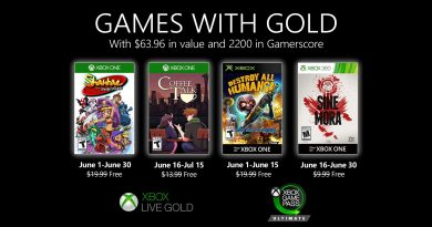 Games With Gold Giugno 2020