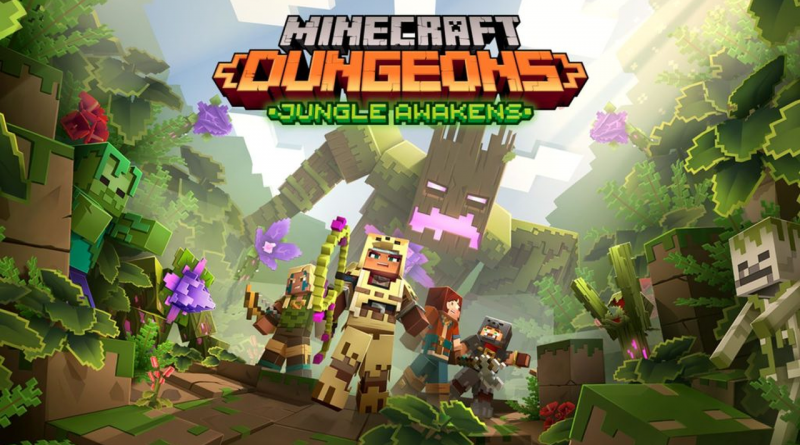 Minecraft Dungeons: Jungle Awakens
