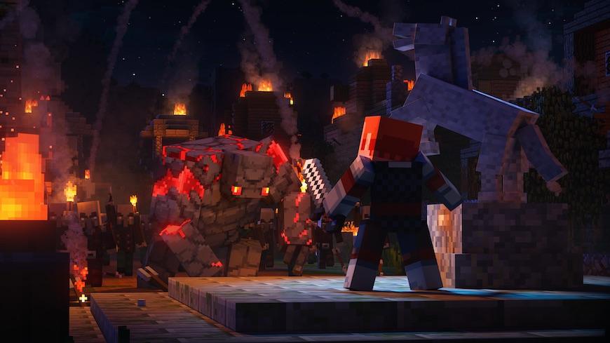 Minecraft Dungeon Recensione 2