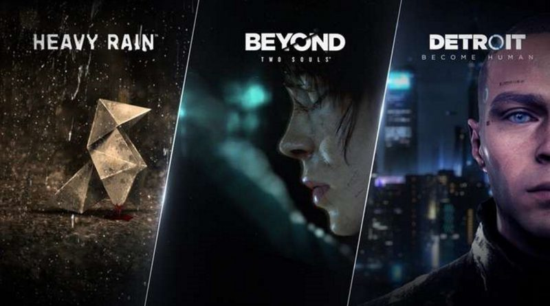 Heavy Rain, Beyond: Due Anime, Detroid: Become Human