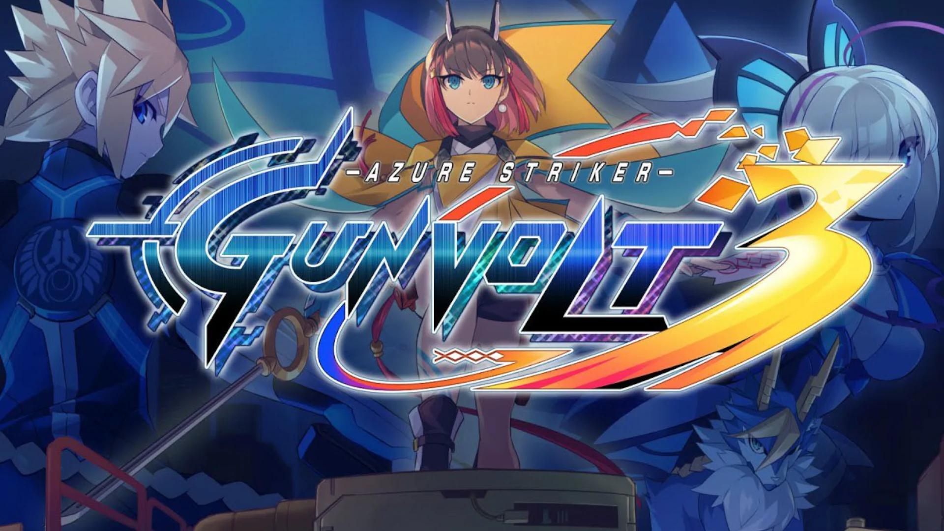 Azure Striker Gunvolt 3 annunciato per Switch