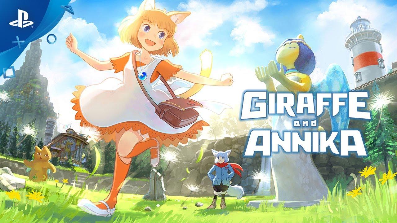 Giraffe and Annika per PS4 e Switch in un nuovo trailer