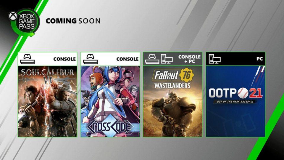 Xbox Game Pass Luglio 2020