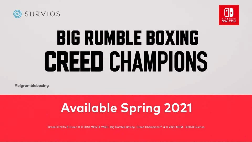 Big Rumble Boxing: Creed Champions