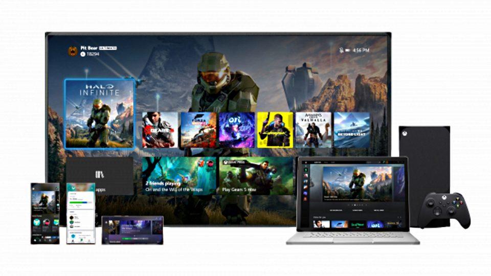 Interfaccia Xbox 2020