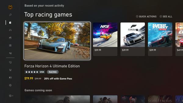 Microsoft rivela la nuova interfaccia per Xbox 2