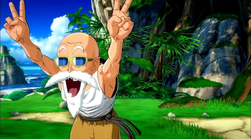 Dragon Ball FighterZ - Maestro Muten