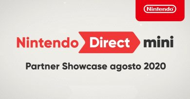 Nintendo Direct Mini: Partner Showcase Agosto 2020