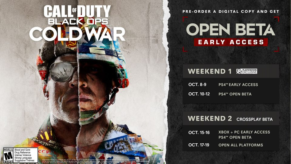 Call of Duty: Black Ops Cold War, multiplayer rivelato e beta 1