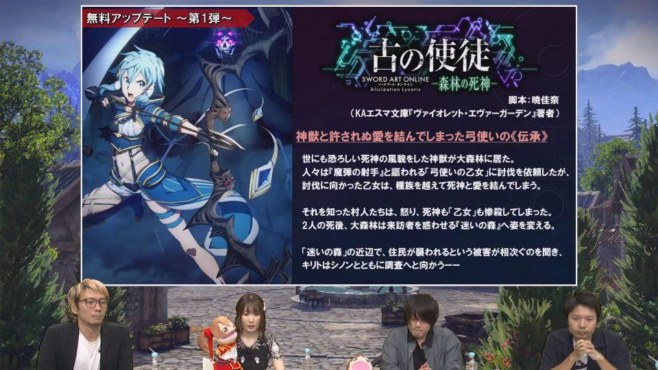 Sword Art Online: Alicization Lycoris, ecco la roadmap degli aggiornamenti 1