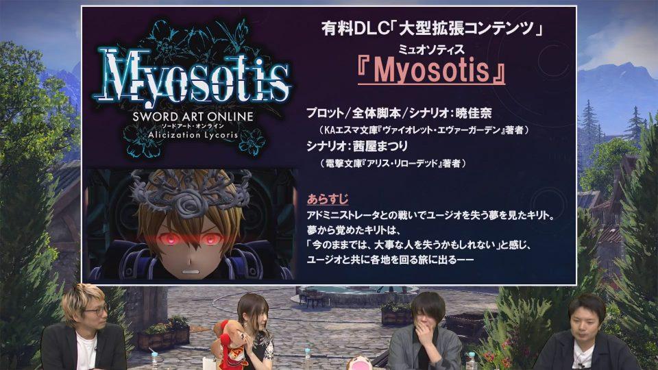 Sword Art Online: Alicization Lycoris, ecco la roadmap degli aggiornamenti 2