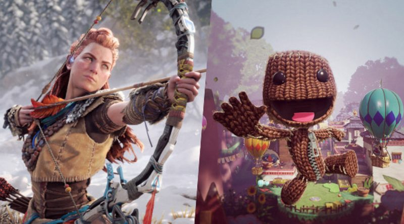Horizon Forbidden West e Sackboy: A Big Adventure