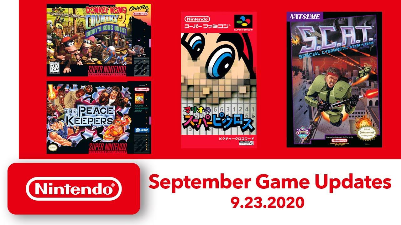 Nintendo Switch Online NES/SNES Settembre 2020