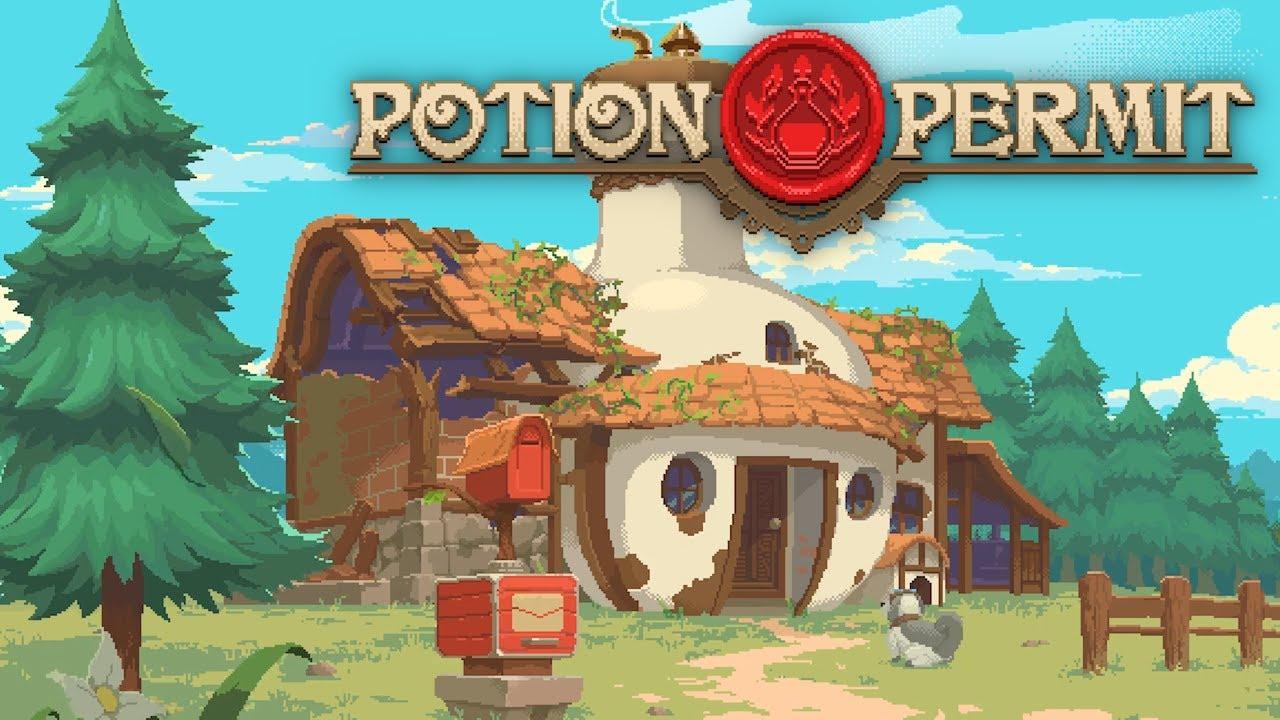 Potion Permit in arrivo su PS4, Xbox One, Switch e PC nel 2021