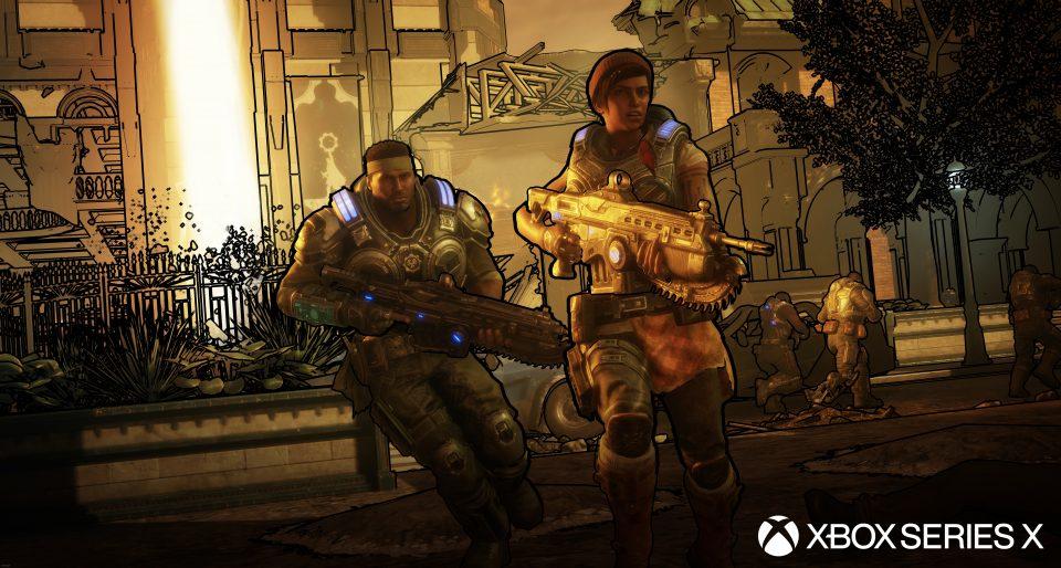 Gears 5 si mostra su Xbox Series con un trailer 4