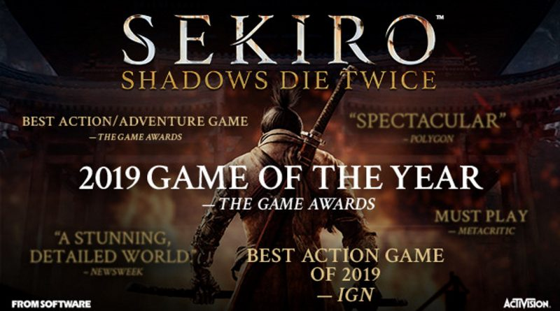Sekiro: Shadow Die Twice Game of the Year Edition