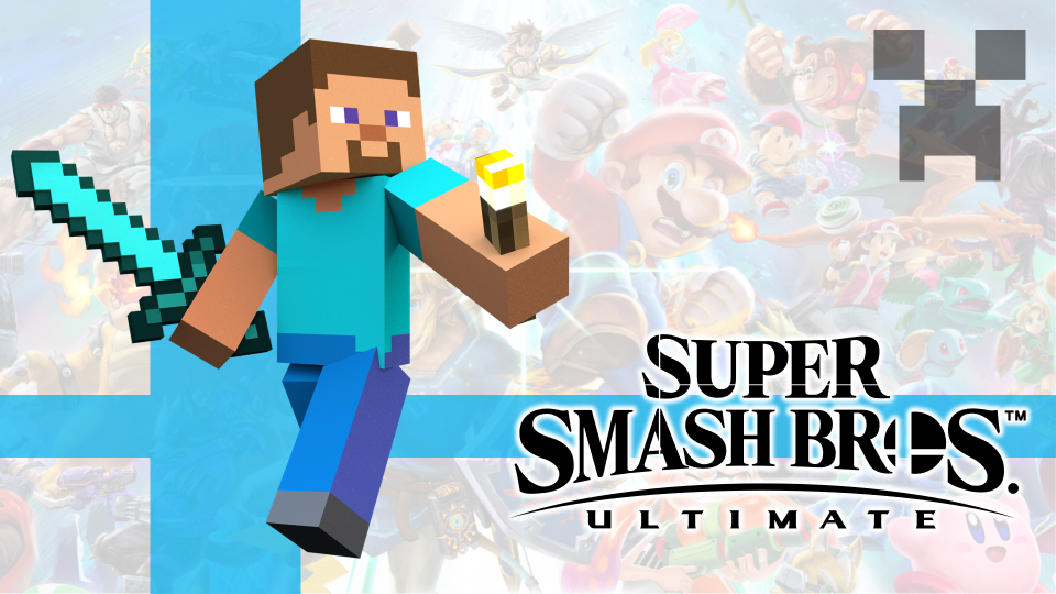 Super Smash Bros. Ultimate DLC Minecraft